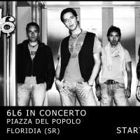 Locandina concerto 6l6 a Floridia